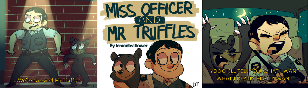 Miss Officer and Mr Truffles2